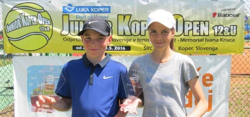 Na sliki: Lun Obrul (SLO) in Olga Molchanova (UKR) velika zmagovalca.